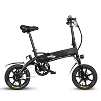 Легкий складываемый электрический велосипед, 14 дюймов, складной электрический велосипед, мопед, электронный велосипед, 250 Вт, бесщеточный м