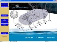 TIS Techstream V12.10.019 [5.2017] + Трещина + Перепрограммируя DVD Для Toyota