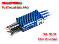 Hobbywing 60A Platinum 60A ESC RC Aircraft Helicopters