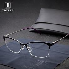 6993dff098 Montura de gafas de aleación para mujer moda media prescripción lectura  ordenador transparente miopía gafas ópticas monturas #27.