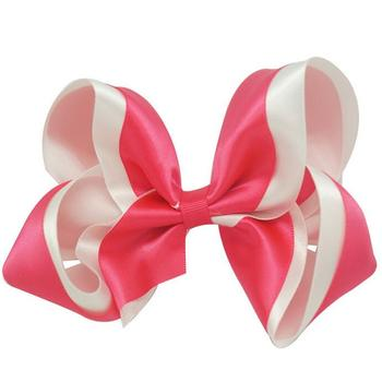 Free Shipping Wholesale 100pcs  Customizable Big  Twisted Boutiqwe Hairbow in 2 colors