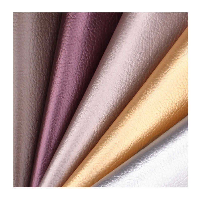 Lychee A4 patrón de lichi brillante tela de cuero PU cuero sintético de alta calidad Material de costura DIY para artesanías hechas a mano Tela de cuero sintético 22cm * 30cm telas de PU para hacer ropa hecha a mano DIY costura Matirials telas de PU tela de 3 colores