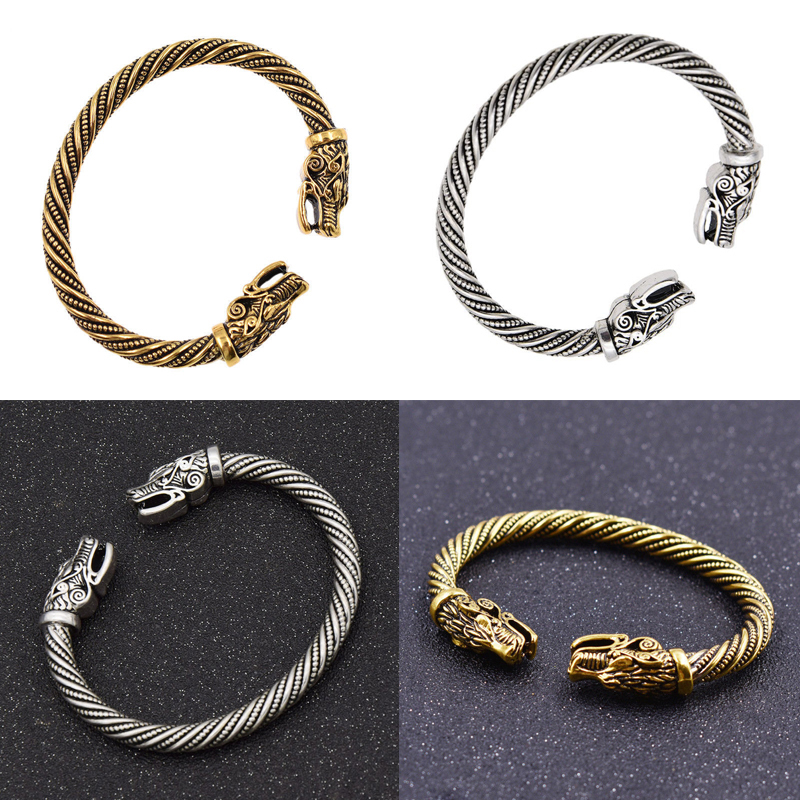 Bracelet tête de loup  6