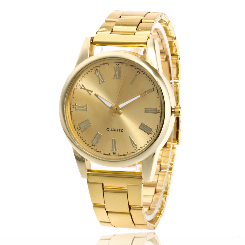 New Fashion Brand Casual Quartz Watch Women Stainless Steel Luxury Watches Ladies Wrist Watch Relogio Feminino Hot Sale Clock mance women men unisex watches gold stainless steel quartz wrist watch skull pirate quality relogio time clock 2016 hot sale