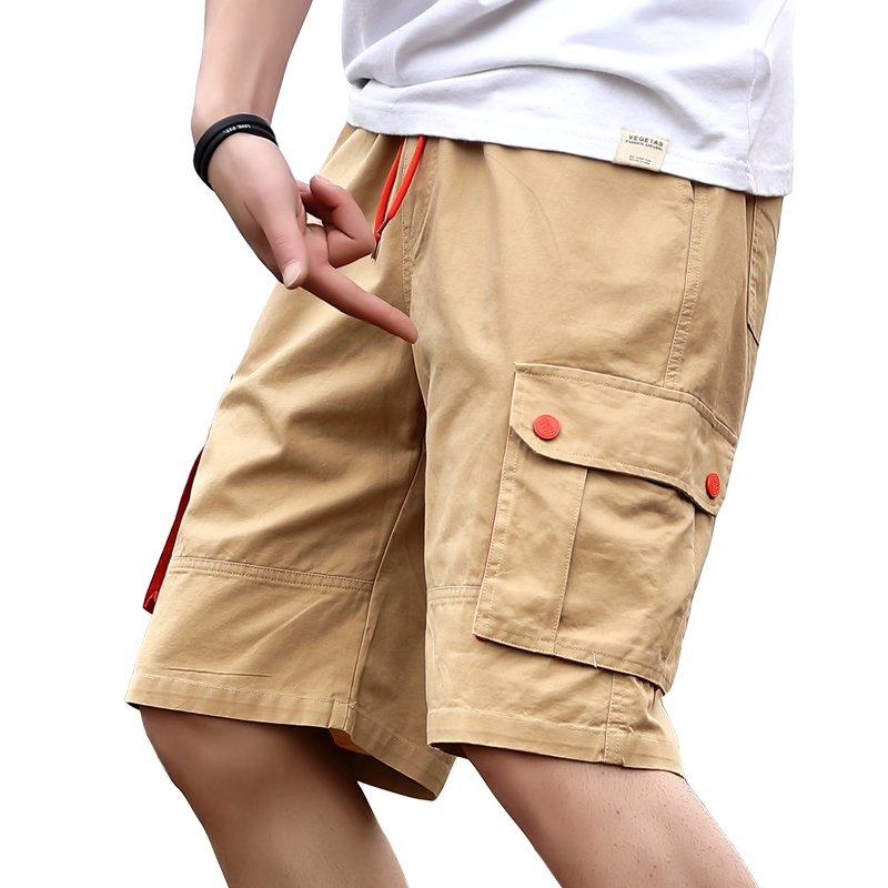 2019 Summer New Cargo Shorts Men Fashion Army Military Tactical Homme Shorts Casual Multi-Pocket Male Baggy Trousers