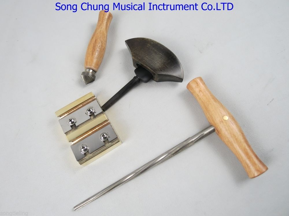 Violin tools Spiral Reamers Peg Shapers ,Round file ,pegs assistant handle