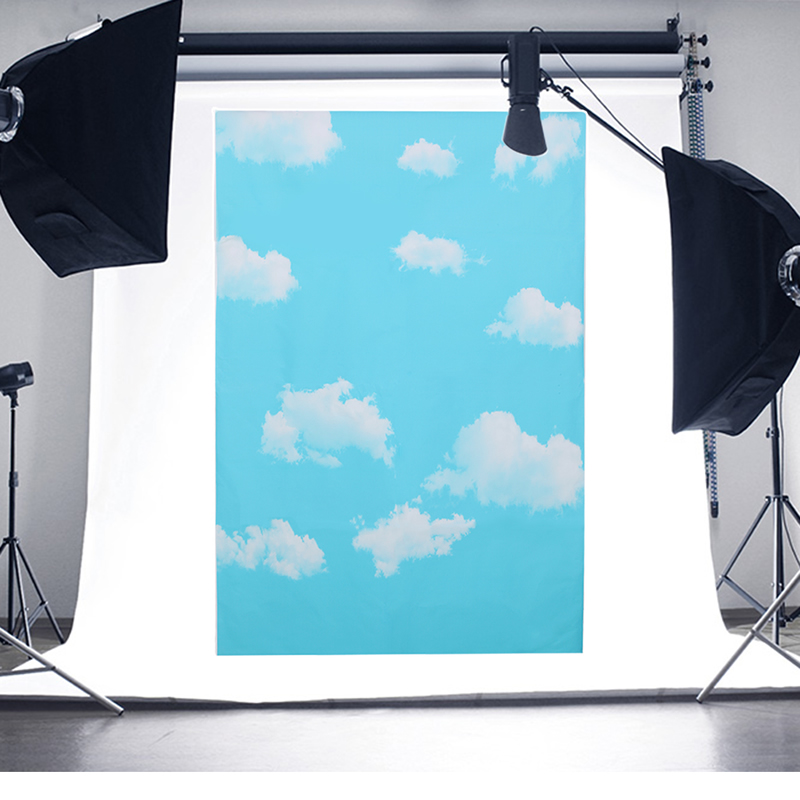 1x1.5m Outdoor Blue Sky White Clouds Theme Photography Background For Photo Prop шлем tech team plasma 550 m blue white