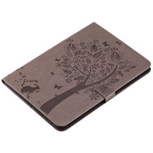 Tree Pattern PU Leather Tablet Case