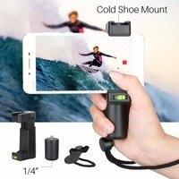 Ulanzi с байонетом F смартфон ручной стабилизатор видео Rig ручка Поддержка крепление штатива для мобильного телефона videomaker Плёнки- чайник