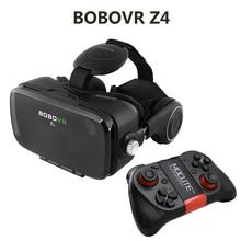 """2016 Hot Google Cartón BOBOVR Z4 VR 360 Grados de Visualización 3D Virtual Inmersiva Experiencia de 4.7 """"-6.2"""" Smartphone Gafas de realidad"""