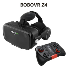 "2016 Hot Google Cardboard BOBOVR Z4 VR 360 Degree 3D Viewing Immersive Experience 4.7""-6.2"" Smartphone Virtual Reality Glasses"