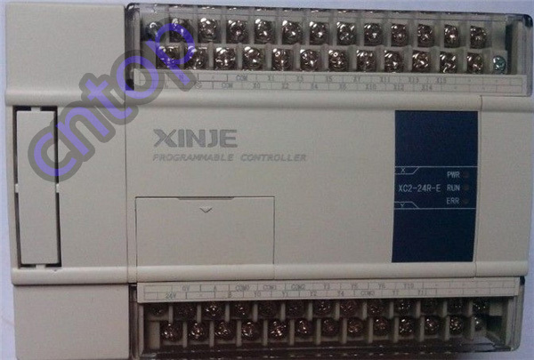 New original 14point NPN input 10point Relay/transistor output XC2-24RT-C XINJE PLC  DC24V 3COM with software&cable