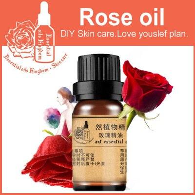 Эфирное масло королева ЧИСТОЕ розовое эфирное масло для анти старения против морщин увлажняющий увлажняющий отбеливание Розовое Масло 10 мл