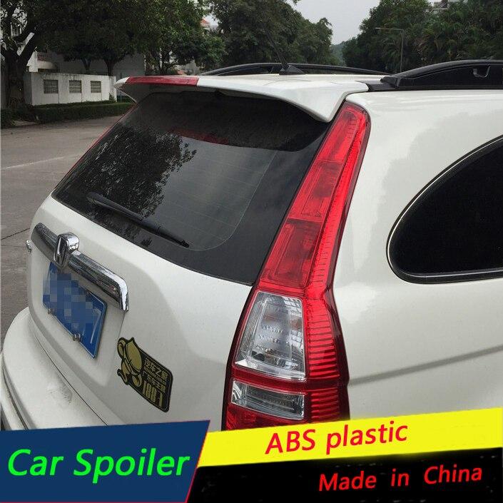 honda cr  spoiler high quality abs material car rear wing primer tail spoiler
