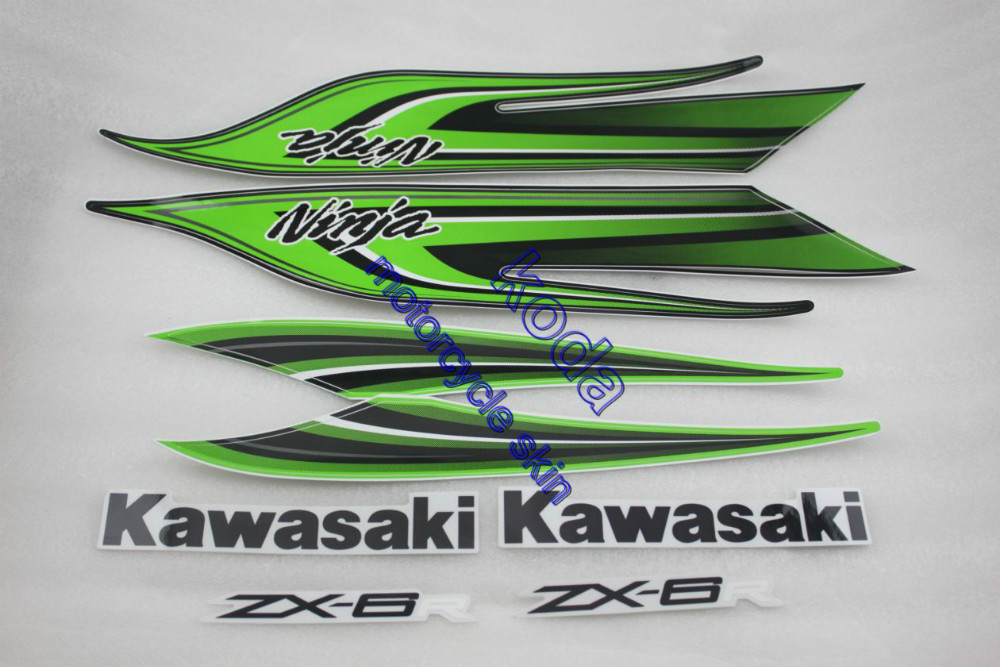 Popular Kawasaki Ninja Graphics StickerBuy Cheap Kawasaki Ninja - Kawasaki motorcycles stickers