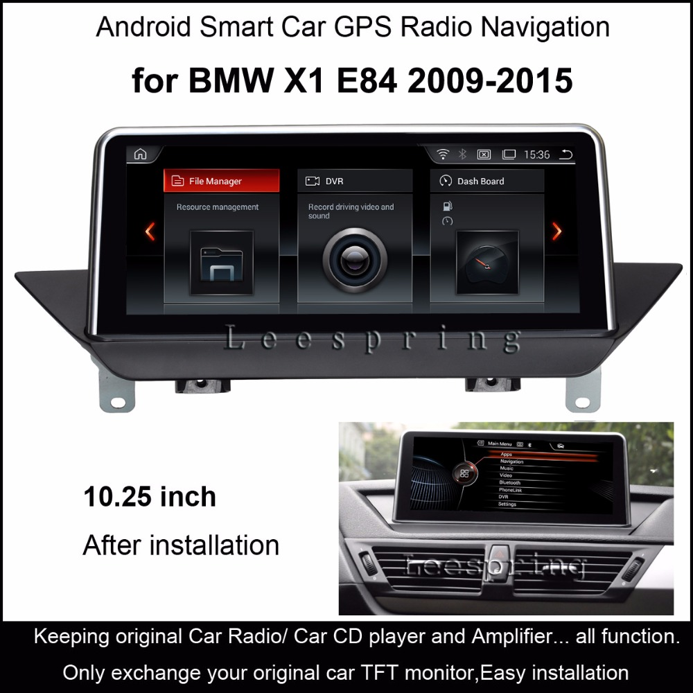 "10.25""Touch Android 4.4 Car GPS Navigation for BMW X1 E84 2009-2015 Radio"