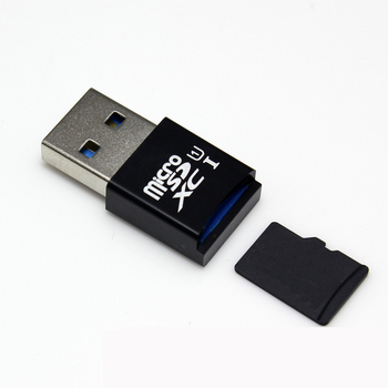 MINI 5Gbps Super Speed USB 3.0 Micro SD/SDXC TF Card Reader Adapter High Speed Data Transfer Up Tp 5 Gbps. 63#