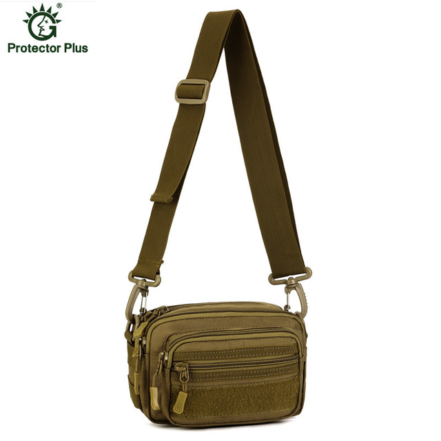 Multipurpose Small Messenger Bag Men Nylon Waterproof Waist Pack Army Fans Camouflage Small Bag