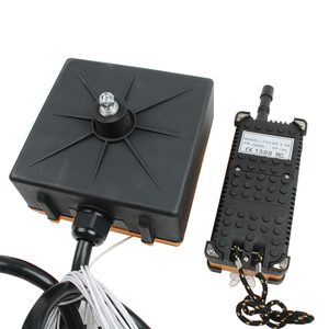 Image 4 - Industriële Draadloze Radio Afstandsbediening Schakelaar 1 Ontvanger + 1 Zender Speed Control Hoist Kraanbesturing Lift Crane F23 BB