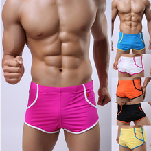 Мужская Причинные Шорты Slim fit Человек Сексуальная Купальный Костюм Дышащая Шорты Пляжная Одежда, Шорты