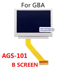 100%new For Nintendo GameBoy Advance SP GBA SP AGS 101 Highlit Screen LCD OEM Backlit Brighter LCD Screen panel