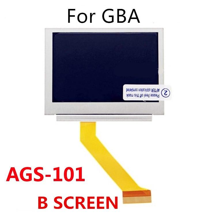 100% nouveau pour Nintendo GameBoy avance SP GBA SP AGS 101 écran haute luminosité LCD OEM rétro-éclairé panneau d'écran LCD plus lumineux