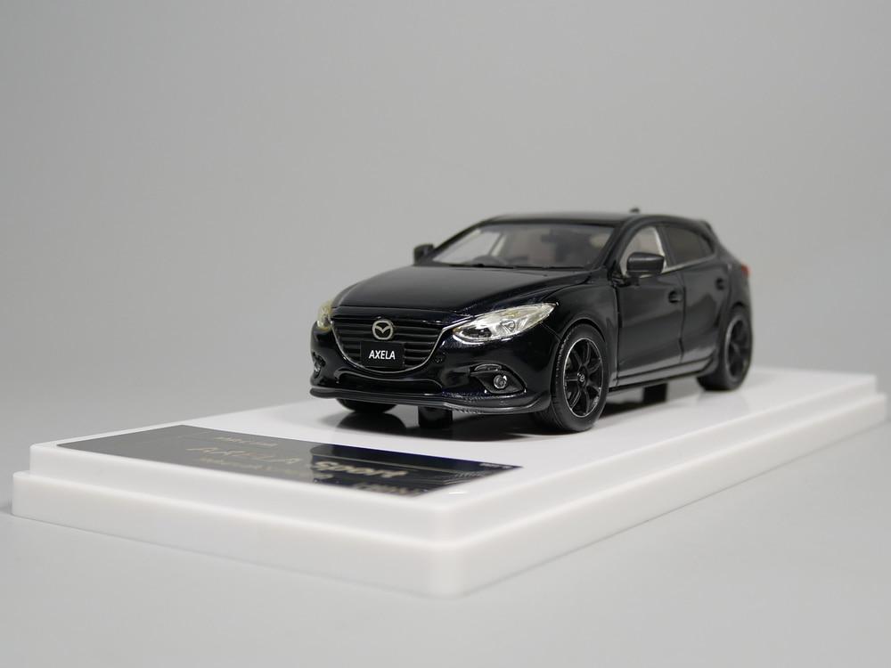 wit's 1:43 MAZDA AXELA Sport Mazdaspeed 2013 Resin model car refires mazda 3 resin material