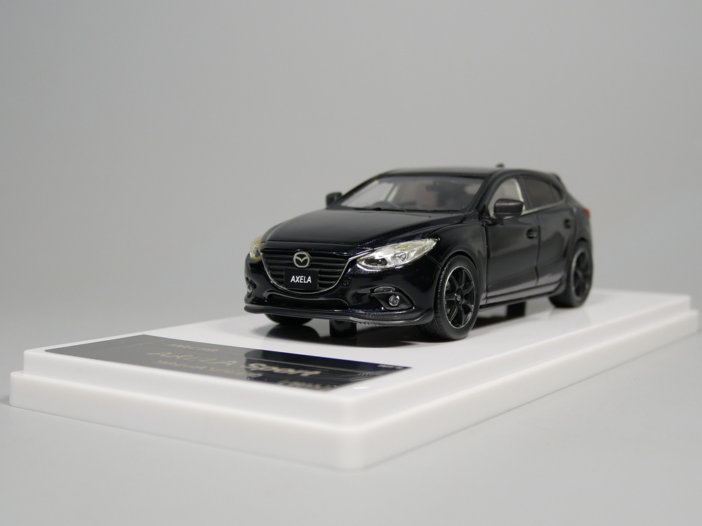 wit's 1:43 MAZDA AXELA Sport Mazdaspeed 2013 Resin model car задний диффузор axela sport для mazda 3 2013 2017