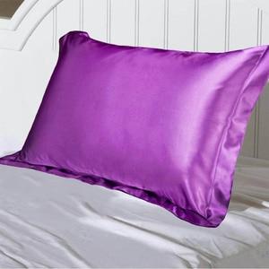 Image 4 - Haar Schönheit Solide Farbe Emulation Kissenbezug Einzelnen Kissen Abdeckung