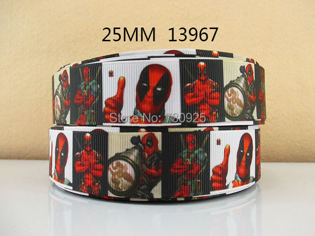 5y13967 High Quality 1 Grosgrain Printed Ribbon Diy Girls Headwer Garment Accessories Ribbon Diversified In Packaging Smart 5yds Per Roll