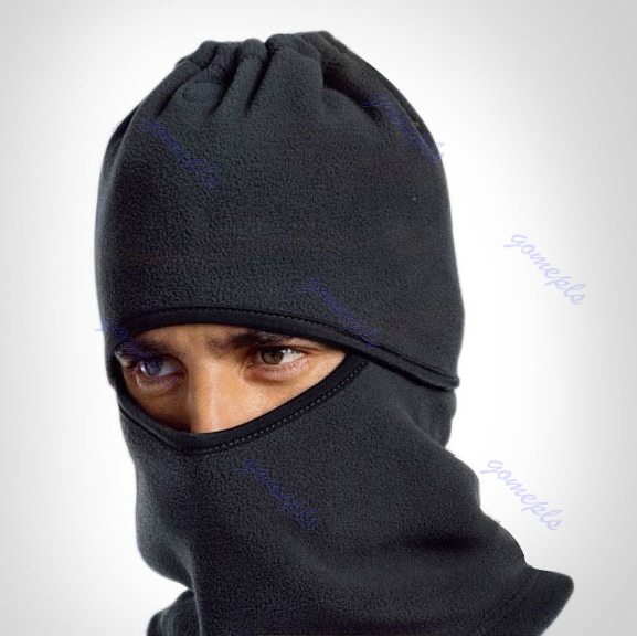 Hot Sell 6 in 1 Thermal Fleece Balaclava Hood Police Swat Ski Bike Wind Stopper Face