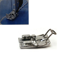 цены 1pcs Sewing Machine Parts Dedicated Weave Presser Feet for Household Sewing Machine DIY Rope Sewing Machine Foot
