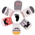 Cartoon Unisex baby socks Newborn Anti Slip Baby Girls/ Boys Cotton Toddler Boat Socks children's socks Cute socks for kids 0-2T