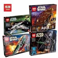 Lepin Star Wars Set 05036 05037 05038 05039 Red Five X wing Starfighter Slave NO.1 Building Blocks Bricks Toy LegoIG 75060 10240