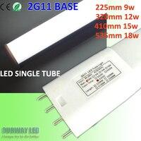 4 Pins PL LED 2G11 Tube 5730 Bar Lamp 9W 12W 15W 18W 90 100lm Watt