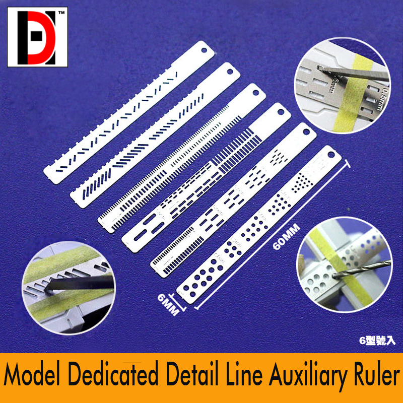 Gundam Model Details Decorations Carving Lines Auxiliary Ruler Modeling Hobby Craft Accessory