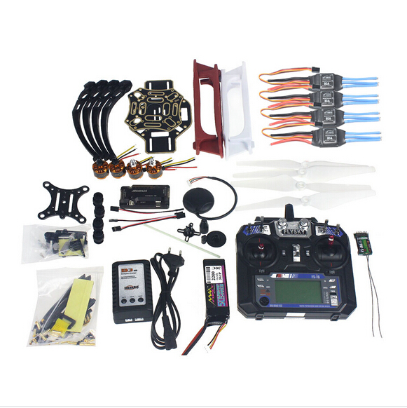 цены  Full Set RC Drone Quadrocopter Aircraft Kit F450-V2 Frame GPS APM2.8 Flight Control Camera Gimbal PTZ F02192-X