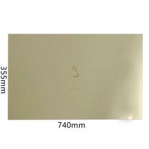 Image 5 - Энергичный новый обновленный 3D принтер Tronxy X5S Heatbed,330x330 мм Удаление пружинный стальной лист с подогревом кровати применяется PEI Flex Plate