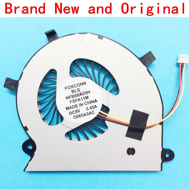 New Laptop CPU Cooling Fan Cooler Radiator untuk Toshiba Satellite P55W P55W-B P55W-B5112 P55W-B5318 P55W-B5220 P55W-B5224 Fan