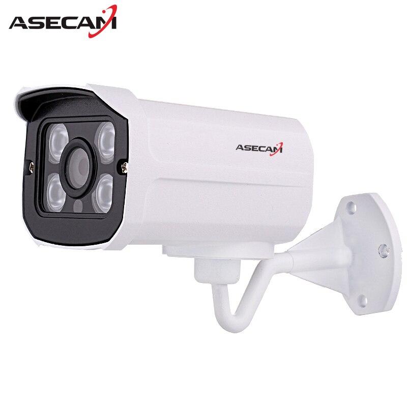 Caliente H.264 HD 2MP 1080 p cámara IP Poe al aire libre Red 1920*1080 Bullet seguridad cctv Cámara P2P ONVIF visión Nocturna 4 array led