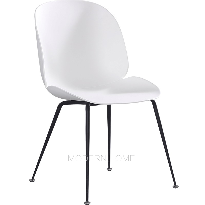 Modern Design Gold Color Plastic And Metal Leg Dining Chair, Fashion Loft  Gold Leisure Study Lounge Computer Chair Furniture 1PC In Dining Chairs  From ...