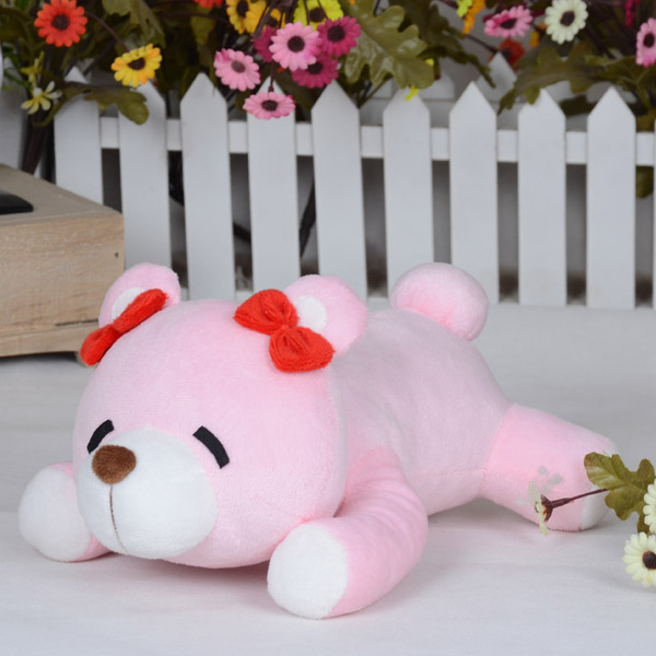 Love Live! Nico Yazawa UR card Cosplay Plush Pink Bear Doll Toy mp003020