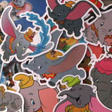Homegaga 20pcs Dumbo elephants cartoon kids diy 90s print notebook phone laptop bicycle scrapbooking album decals sticker D1898