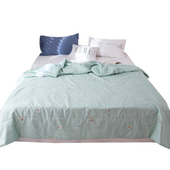 Cotton And Linen Air Conditioning Quilt Bedding Sets