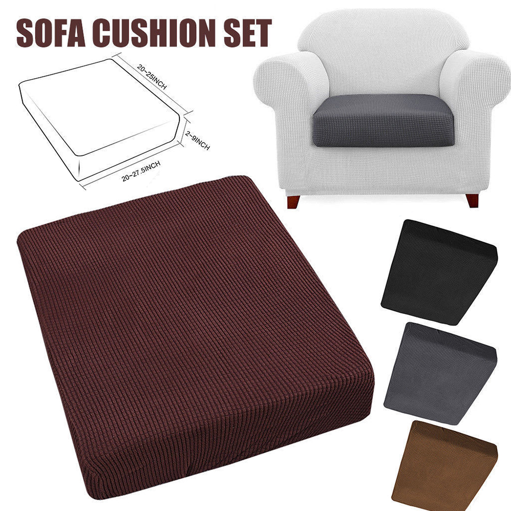 Sofa Cushion Set Cover Stretch Sofa Seat Cover Couch Protective Slipcover Replacement Чехол для подушки дивана