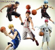 Kuroko nenhuma cesta anime taiga daiki ryota tetsuya brinquedos pvc figura de ação basquete meninos brinquedo collectible modelo boneca presente para crianças