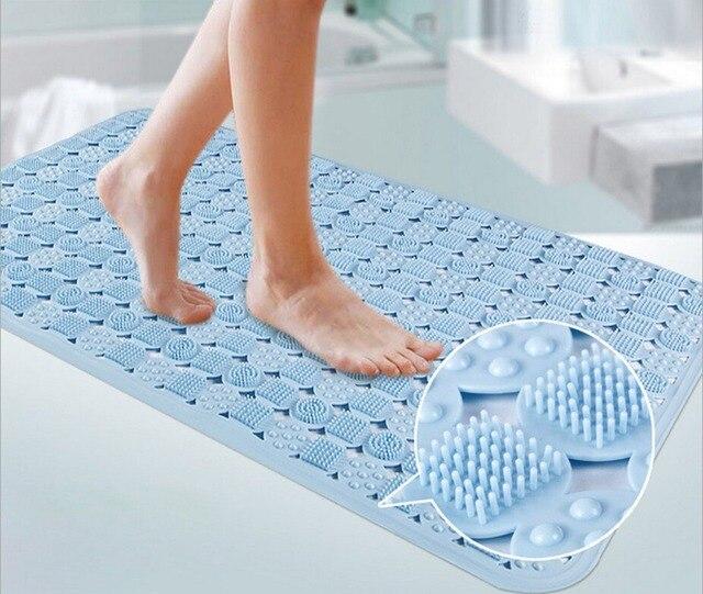 Ultra Soft Tpr Bath Mats Safety Shower Tub Non Slip Mat Children Bathtub Rug For Bathroom Toilet And Kitchen