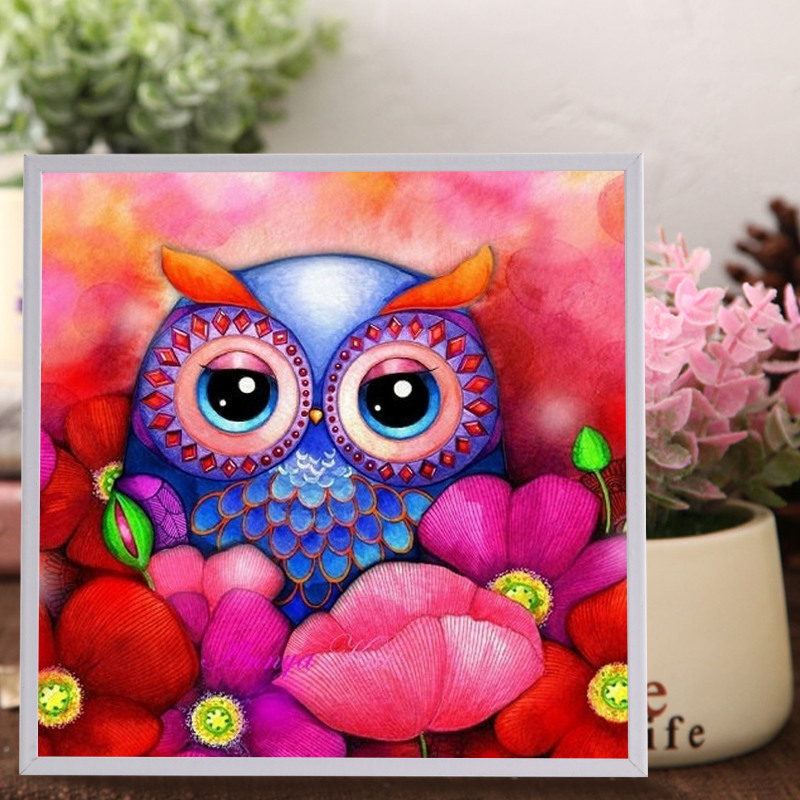 DIY Two Owls Puzzle Children Jigsaws toys Present Gift Educational Learning toys Handmade Birthday Gift Jigsaw