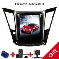 10,4 Тесла Тип Android Fit HYUNDAI SONATA 2012 2013 2014 Автомобильный dvd плеер навигация GPS радио