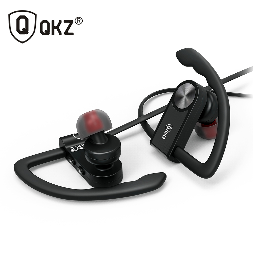 все цены на Bluetooth Earphone Headphone For iPhone Samsung Xiaomi fone de ouvido QKZ QG8 Bluetooth Headset Sport Wireless HiFi Music Stereo онлайн